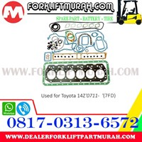 PACKING SET FORKLIFT TOYOTA 14Z 0711 Murah 5