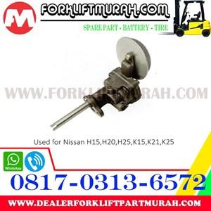 POMPA OLI FORKLIFT NISSAN  H15 H20 H25 K15 K21 K25.