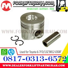 PISTON SET FORKLIFT TOYOTA 6 7FD 13Z 9812 0308