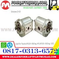 Jual Hydraulic Pump Forklift Toyota 6fg20 30 6fd20 30 Harga Murah Surabaya Oleh Cv Karya