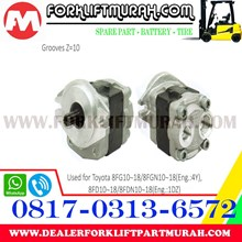 HYDRAULIC PUMP ASSY FORKLIFT TOYOTA 8FG10 18 8FGN10 18 8FD10 18 8FDN10 18