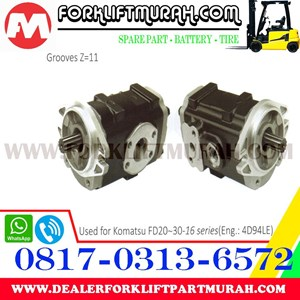 Sell HYDRAULIC PUMP ASSY FORKLIFT KOMATSU FD20 30 16 from Indonesia by CV   Karya Keluarga Diesel,Cheap Price