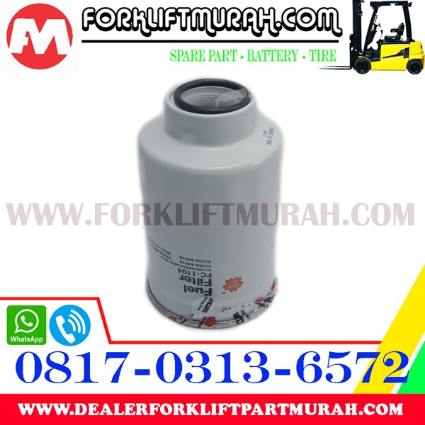 FUEL FILTER FORKLIFT TOYOTA PART NUMBER FC1104