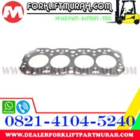 CYL HEAD GASKET ONLY NON ASBESTOS 2J FORKLIFT TOYOTA PART NUMBER 11115-76030-71