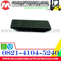 PAD ACCELPEDAL 3-5FD25-40 FORKLIFT TOYOTA PART NUMBER 26618-22000-71 1