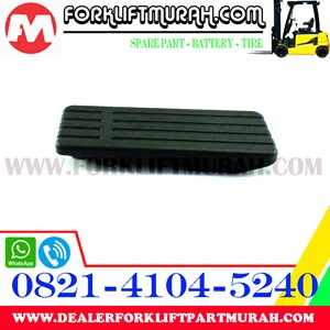 PAD ACCELPEDAL 3-5FD25-40 FORKLIFT TOYOTA PART NUMBER 26618-22000-71