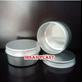 Jar Aluminium 80 Gr Silver