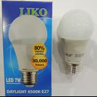 Lampu Bohlam Liko Daylight 6500K-E27 LED 7W 1