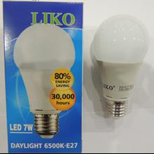 Liko Daylight 6500K-E27 LED 7W Bulb Lamp