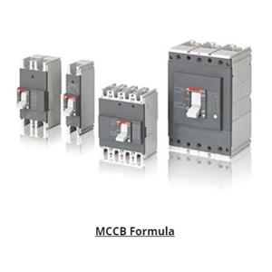 MCCB / Mold Case Circuit Breaker ABB Formula A1A