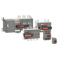 ABB Manual operated switch disconnectors