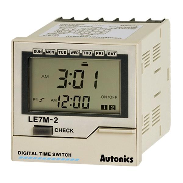 Autonics Timer Seri LE7M-2