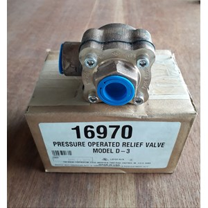 From Pressure Operated Relief Valve 0