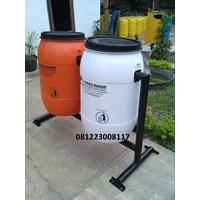 jual tempat sampah drum plastik 120 liter harga murah cikarang oleh cv hanaca mandiri. Black Bedroom Furniture Sets. Home Design Ideas