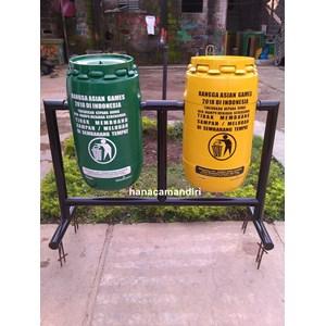 Tong Sampah Drum Plastik 70 Liter
