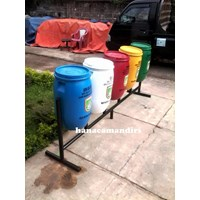 Distributor tong sampah drum plastik 5 R 3