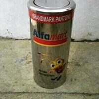 Jual tong sampah stainless tutup goyang 30 x 60 2