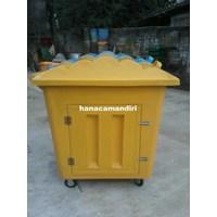 Distributor Tempat sampah fiberglass 1000 liter 3
