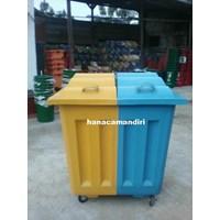 Jual Tempat sampah fiberglass 1000 liter 2