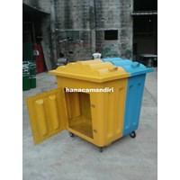 Tempat sampah fiberglass 1000 liter Murah 5