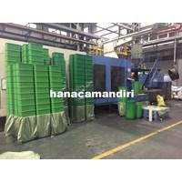 Distributor tong sampah plastik HDPE 3 pilah 3
