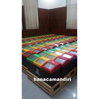 Distributor tempat sampah kayu 3 in1 3