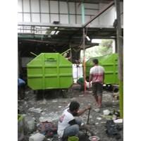 Jual kontainer sampah fiberglass 2