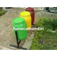 Jual Tempat Sampah Drum Plastik 3 Pilah Harga Murah