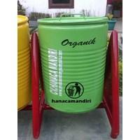 Jual Tong Sampah Drum Plat 2