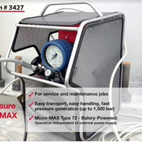 Compact High Pressure Pump Micro Max