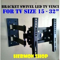 Jual Braket Tv Swivel Vinci 15 - 32