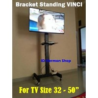 Brakcet Tv Standing Bracket Vinci 65 Inch Roda