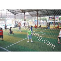 Lapangan Futsal.