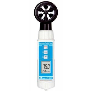 Vane Anemometer Humidity Tipe AH-4223