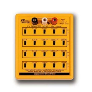 Capacitance Decade Box Tipe CBOX-406