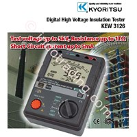 Jual Insulation Tester Digital Kyoritsu 3126 ( 5 Kv )