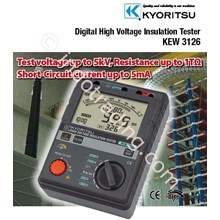 Insulation Tester Digital Kyoritsu 3126 ( 5 Kv )