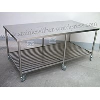 Jual Meja Stainless Meja Dapur Stainless Dan Grease Trap Stainless