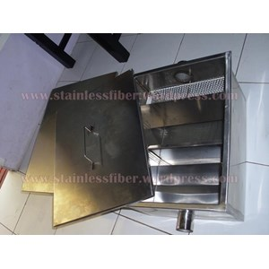 Meja Stainless Meja Dapur Stainless Dan Grease Trap Stainless