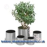 Jual Pot Bunga Stainless Pot Stainless Pot Tanaman Stainless Vas Stainless 2