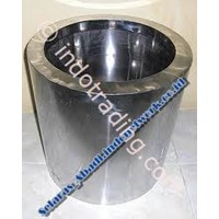 Pot Bunga Stainless Pot Stainless Pot Tanaman Stainless Vas Stainless 1