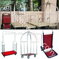 Beli Trolley Hotel Bellman Trolley Bell Boy Trolley Luggage Trolley Makanan Room Boy Trolley 4