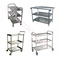 Jual Trolley Hotel Bellman Trolley Bell Boy Trolley Luggage Trolley Makanan Room Boy Trolley 2