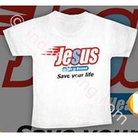 Kaos Jesus Putih 1
