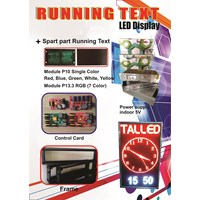 Jual Display LED Running Text 2