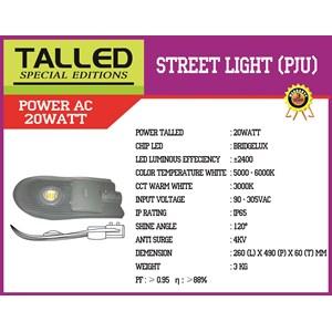 Lampu Jalan Talled AC 20watt (White dan Warm White)