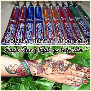 Jual Henna Tattoo India Harga Murah Jakarta Oleh Cv Megah Beauty