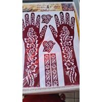 Jual Cetakan Tato Henna 2