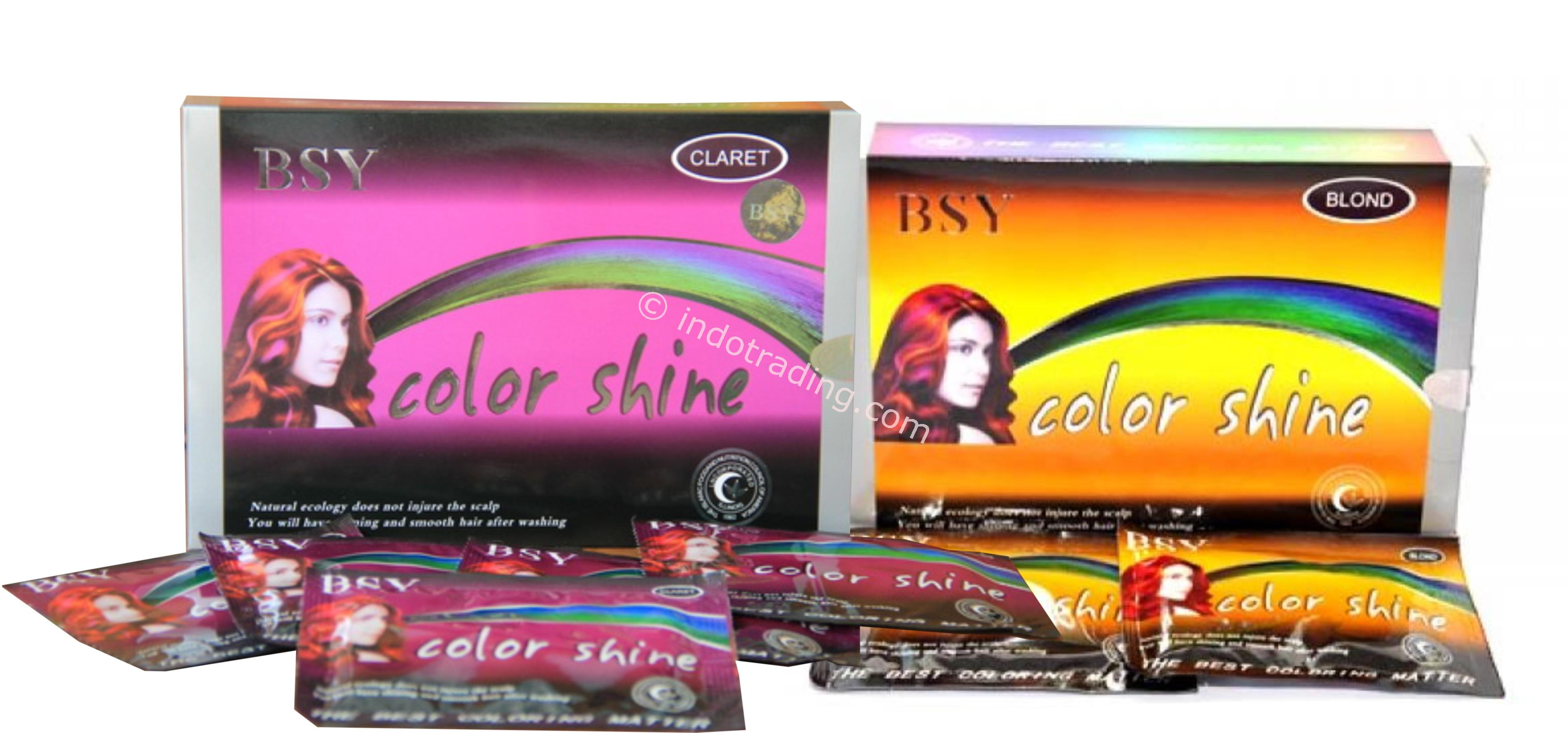 Sell Bsy Color Shine Hair Dye From Indonesia By Cv Megah Beauty