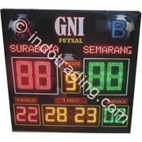 Papan Score Futsal Herari Model 5 Murah 5